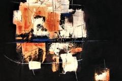 16-Senza titolo - 2005 - tempera su tela - 140x130 cm