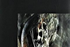 19-silenzio II - 2005 - t.mista su tela- 50x70cm