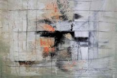 3-senza titolo 2007 t.m. su seta cm. 90x70 - archivio n.98