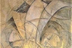 8-Senza titolo - 2005 - acrilico su tela 140x130cm