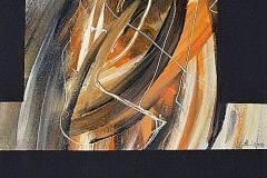 2-Silenzio IV - 2006-  tecnica mista su tela - 50x80 cm