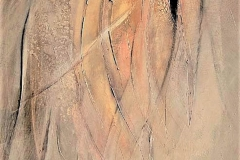1-Aleatorio - acrlico su tela - 70x90 cm