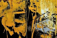 4- Germinazioni V - 2008 -  - t.mista su tela - 50x70 cm