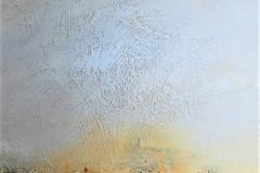 20 - Meditazione VII - T. mista su tacola - 70x120 cm