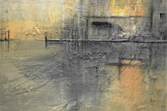 21- Nebbie - T. mista su tavola 55x80 cm