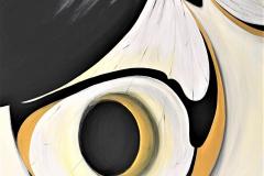 3-L'emozione di un battito I - 2009 - t.m. su tela - 100x120 cm