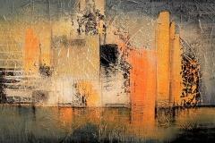 32- Dalla Sinfonia del nuovo Mondo - 2009 - t.mista su tela - 100x70 cm