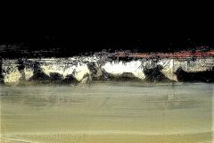 5 -Meditazioni III -2009 - t.mista su tavola - 45x70 cm
