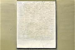 7 -Words- 2009 - T. mista su tavola - 80x120 cm