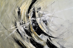 4-Vento - 2011 - T. mista su tela - 150x140 cm