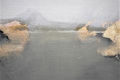 2-Serie degli orizzonti  2 -2012 - acrilico su tela -20x20 cm