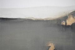 3-Serie degli orizzonti 3 -2012 - acrilico su tela -20x20 cm