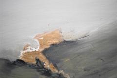 4-Serie degli orizzonti  4 -2012 - acrilico su tela -20x20 cm