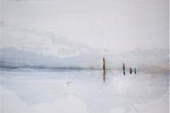 10 -Luce invernale - T. mista su tela - 80x100 cm
