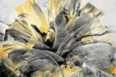10 - Verso sera in Namibia - 2014 - T. mistasu tela -  70x60 cm