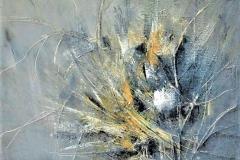 5- Umore ..grigio - 20124 -T. mista su tela - 100x120 cm