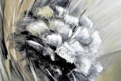 7 -Il ricordo - 2014 -T. mista su  tavola  - 70x90 cm