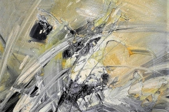 9 - IMPROVVISO - 2014 - T.mista su tavola - 50x50 cm