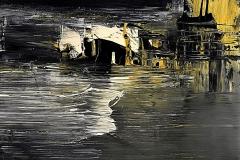 2-Notturno - 2015 - T. mista su tavola - 50x50 cm