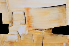 9-Vobrazioni in giallo II - Dittico - 2016- T. mista su tela - 40x40 cm