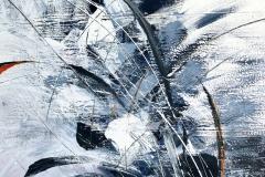 Forme accolte II 2018 - T. acrilico su tavola - 120x80 cm
