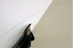 FORME ACCOLTE II-2018 - 30X30 cm - t.mista e Raku su tela