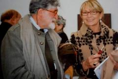 1-Con Valerio Adami -Fondazione Pomodoro