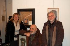 12-con Bruno Ceccobelli e Lucio Scortegagna